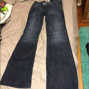 Express DPD wide legged jeans